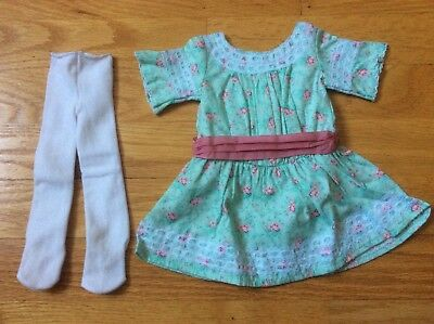 American Girl  Samantha's Special Day Dress & Tights New Buy 3 Get Free Shipping