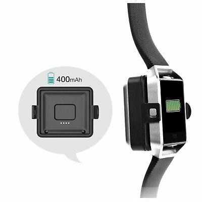 Fitbit Blaze Portable Power Bank & Wireless Charger, Built in 400MAH Battery