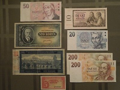 CZECHOSLOVAKIA Banknote Collection