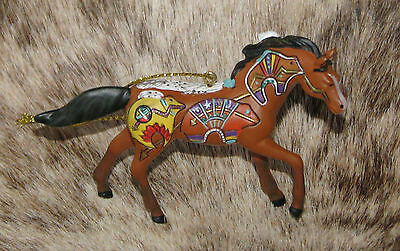 "TRAIL OF PAINTED PONIES Spirit Bear Pony Ornament~2.4""Tall~#4058158~2017 Release"