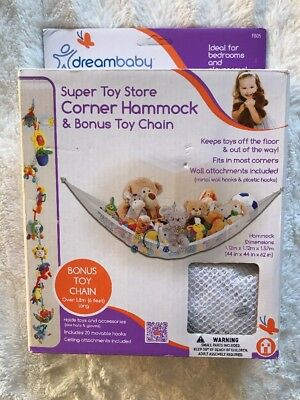 Dreambaby Super Toy Hammock and Toy Chain New