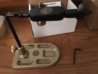 Regal Medallion Vise Fly Tying Vice with Traditional Jaws and Bronze Pocket Base