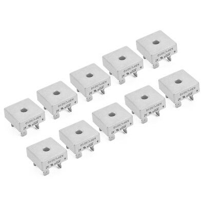 10pcs KBPC5010 1000V 50AMP Metal Case Single Phase Diode Bridge Rectifier TE504