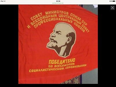 Soviet Union, An early 20th century Communist Party cloth flag