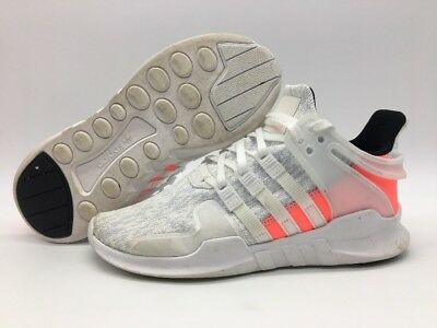 Adidas Originals EQT Support ADV Boys White/White/Turbo BB0544 Size 5y