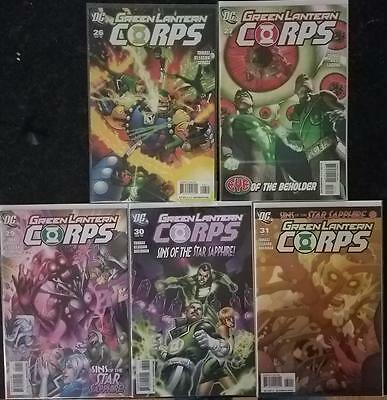 Lot of 5 Issues Green Lantern Corps - Sins of the Star Sapphire