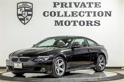 2008 BMW 6-Series Base Coupe 2-Door 2008 BMW 650i Low Miles CPO Warranty 2 Owner Clean Carfax