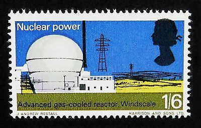 1966 1/6 British Technology Colour Shift Error in Excellent MNH Condition