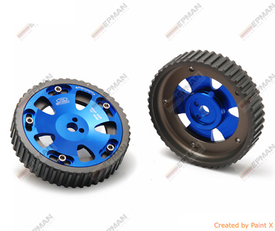 Racing Adjustable Cam Gear Gears Pulley Mitsubishi Lancer Evo Evolution 5 6 7 8