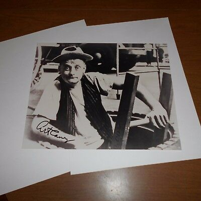 "Art Carney was an American actor  Hand Signed Photo  ""Honeymooners"""