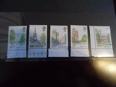 GB 1 set mint london landmarks 1980