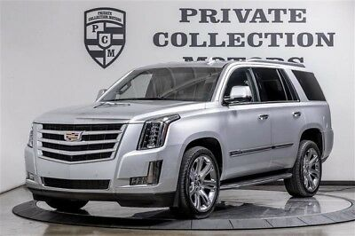 2015 Cadillac Escalade Luxury Sport Utility 4-Door 2015 Cadillac Escalade Luxury New Tires 1 Owner Clean Carfax Highly Optioned