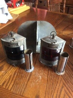 WILCOX CRITTENDEN & INC. Co Antique Marine lantern