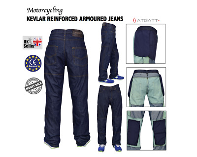 Motorbike Motorcycle Protective Jeans CE approved Armour