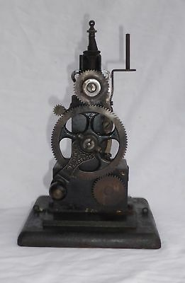 Antique 19thC Cookson Portable Lockstitch Sewing Machine  - Cookson's Rare