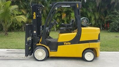 Yale Forklift 10000 Lbs Lpg Glc100Vxn Low Hours