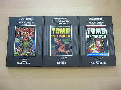 Tomb of Terror Volume 1-3 Harvey Horrors E.C. Comics Horror Pre code classics