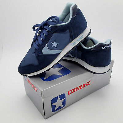 58edf80d2bd2 VTG 1980's New in Box Converse One Star Running Shoes Suede Nylon SZ 6.5  Womens!