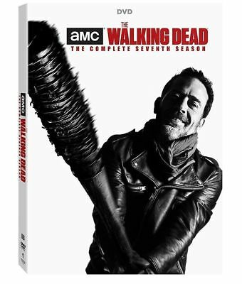 The Walking Dead: Seventh Season 7 (DVD, 2017, 5-Disc Set) - Brand New