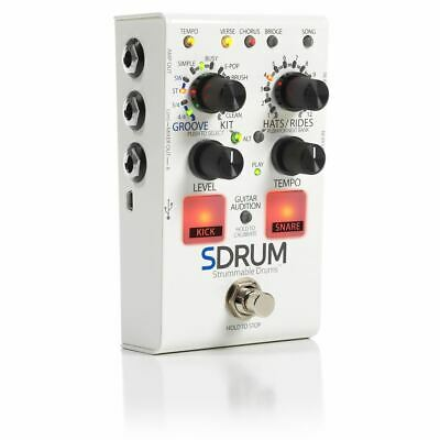 New DigiTech SDRUM Strummable Drums Guitar Effects Pedal + Free Shipping