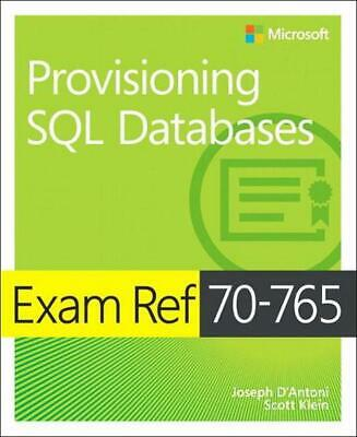 Exam Ref 70-765 Provisioning Sql Databases by Christopher Ford Paperback Book Fr
