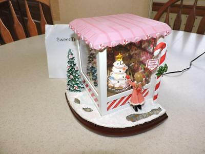 Roman Inc Musical Led Sweet Treats Candy Shop Christmas Santa