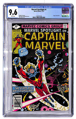 Marvel Spotlight #1 1971 Marvel CGC 9.6 White Pages Red Wolf NM+ Captain Adams