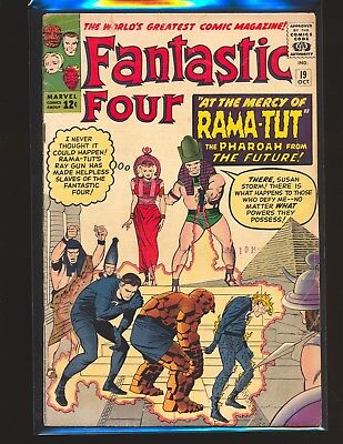 Fantastic Four # 19 G/VG Cond. tape on back cover