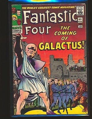 Fantastic Four # 48 - 1st Silver Surfer & Galactus G/VG Fine Cond. water damage