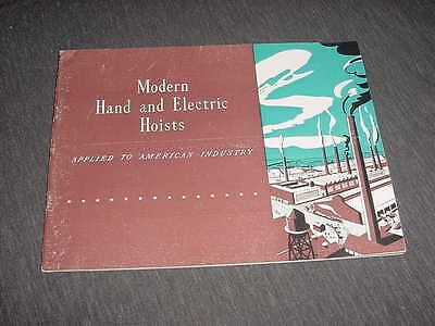 Yale & towne maufacturing company catalog/brochure 1945