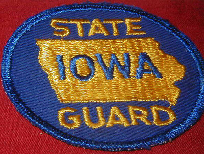 Original WWII Iowa State Guard patch
