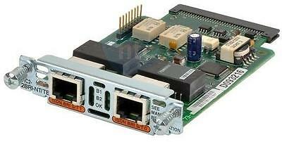 New Cisco VIC2-2BRI-NT/TE 2-Port BRI Voice Module