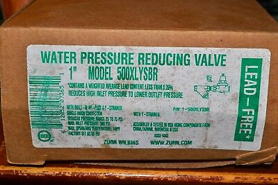 "1"" - 500Xlysbr - Zurn Wilkins Water Pressure Reducing Valve With ""y"" Type Strain"