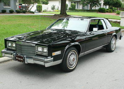 1984 Cadillac Eldorado COUPE ONE OWNER SURVIVOR - 54MI IMMACULATE ONE OWNER SURVIVOR -1984 Cadillac Eldorado - 54K ORIG MI