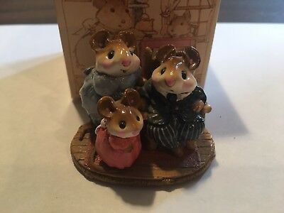 Wee Forest Folk Family Portrait - Excellent Condition with Box