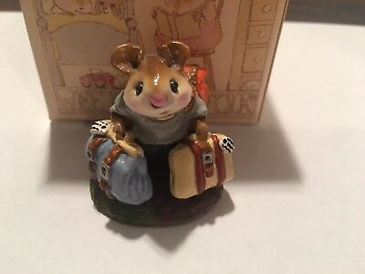 Wee Forest Folk Traveler Mouse,  Mint Condition with Box