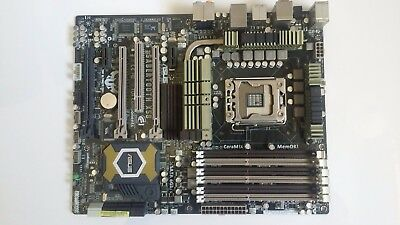 ASUS Sabertooth X58 LGA 1366  SATA 6Gb/s USB 3.0 ATX Intel Motherboard