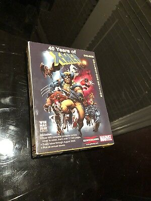 40 Years of X-Men: The Complete Collection Marvel DVD ROM