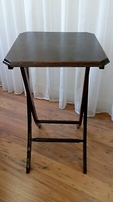 Antique Victoria n Folding Campaign Table