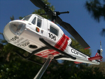 Corgi Bell UH-1B Huey California Dept of Forestry Diecast Helicopter Showcase