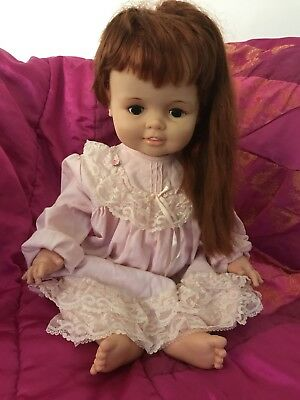 Ideal Baby Chrissy Doll With Grow Hair