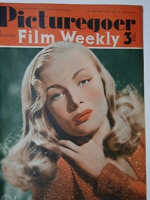 PICTUREGOER & FILM WEEKLY PAPER..(12th July 1941).VERONICA LAKE...FREE POSTAGE