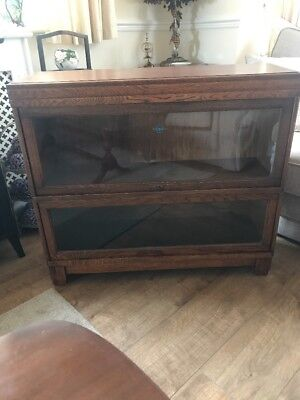 Antique Globe Wernicke Book Case Reduced In Price