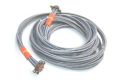 8x CARLISLE 24443/9P025X-4(LD) Coax Cable Boeing S280W502-4 14.7FT 24 AWG 100Ohm