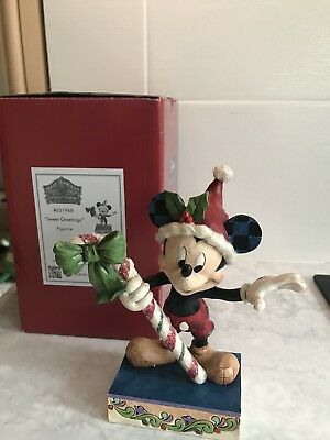 Disney Traditions Showcase Collection Christmas Mickey Mouse Sweet Greeting
