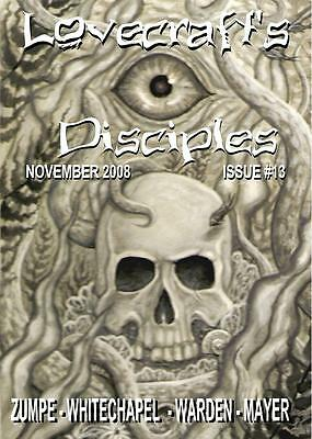 078 LOVECRAFT'S DISCIPLES #13 Rainfall chapbook. H. P. Lovecraft/Cthulhu Mythos