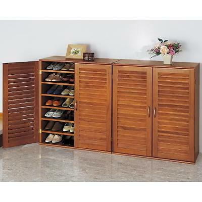 brand new wooden 21 pair shoes cabinet/rack