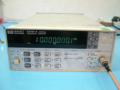 Agilent 53181A frequency counter 225MHz fully tested Opt 010