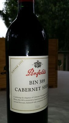 """Penfolds Bin 389 1998 """"Vintage of the Century"""" RRP $180 - Sell $99"""