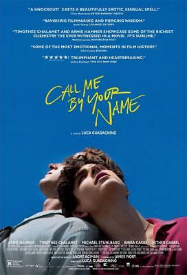 """Call Me by Your Name Art Print Decor Movie Poster 18x12 36x24 40x27"""""""
